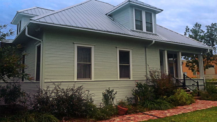 Exterior of Historic home in Celina, Texas -- before