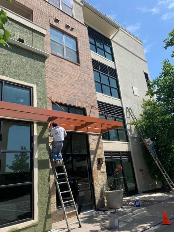 New paint on multifamily project in McKinney