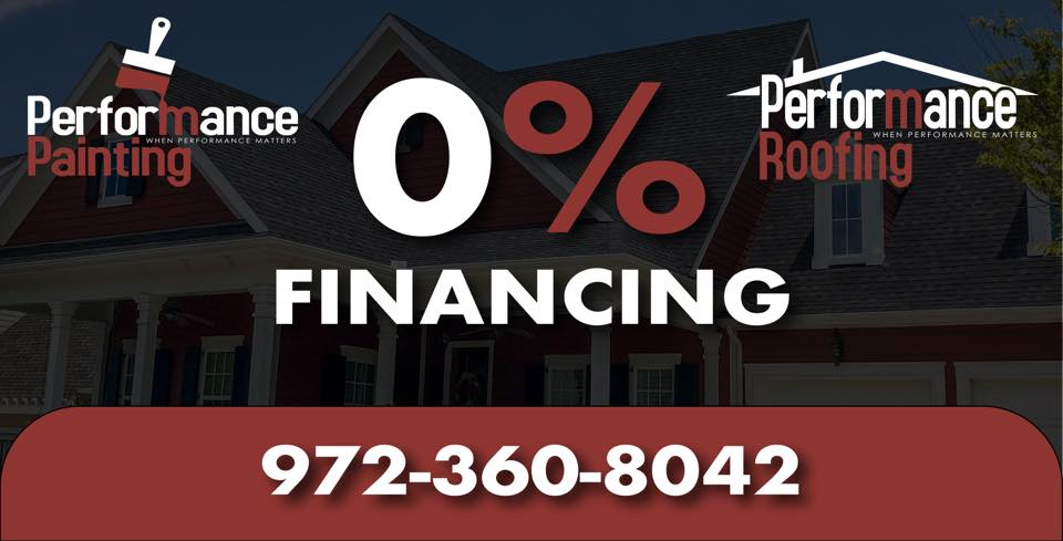 Offering financing on painting and remodeling projects